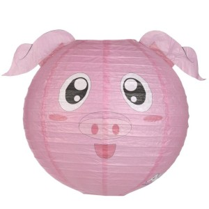 Pig Lampshade compressed