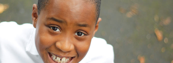 Image of a boy smiling